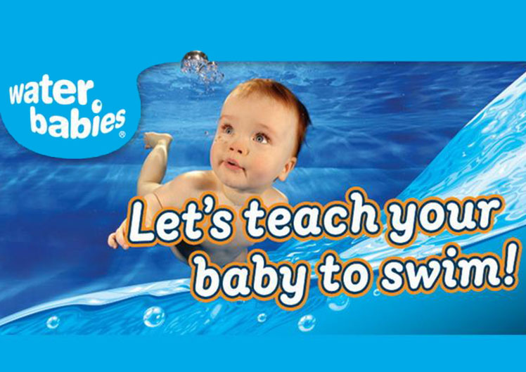 Swimming lessons in West Sussex for babies